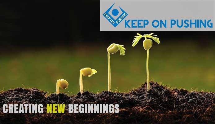 creating new beginning