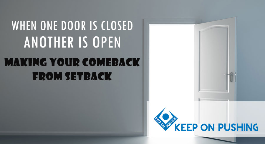 When one door is closed another is open