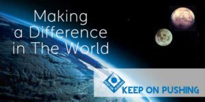 Making a difference in the world